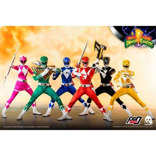 Power Rangers Mighty Morphin Power Rangers 1:6 Scale Action Figure 6-Pack Complete Set