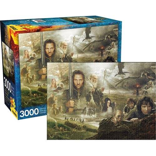 The Lord of the Rings Lord of the Rings Saga 3,000-Piece Puzzle