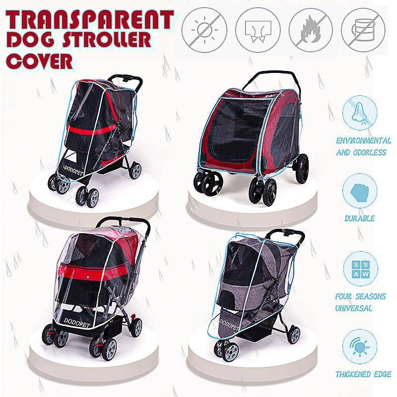 Talis Outdoor Pet Stroller Cover Dog Cat Car Cart Teddy Puppy Out of The Cart Outer Shade Glare Colo