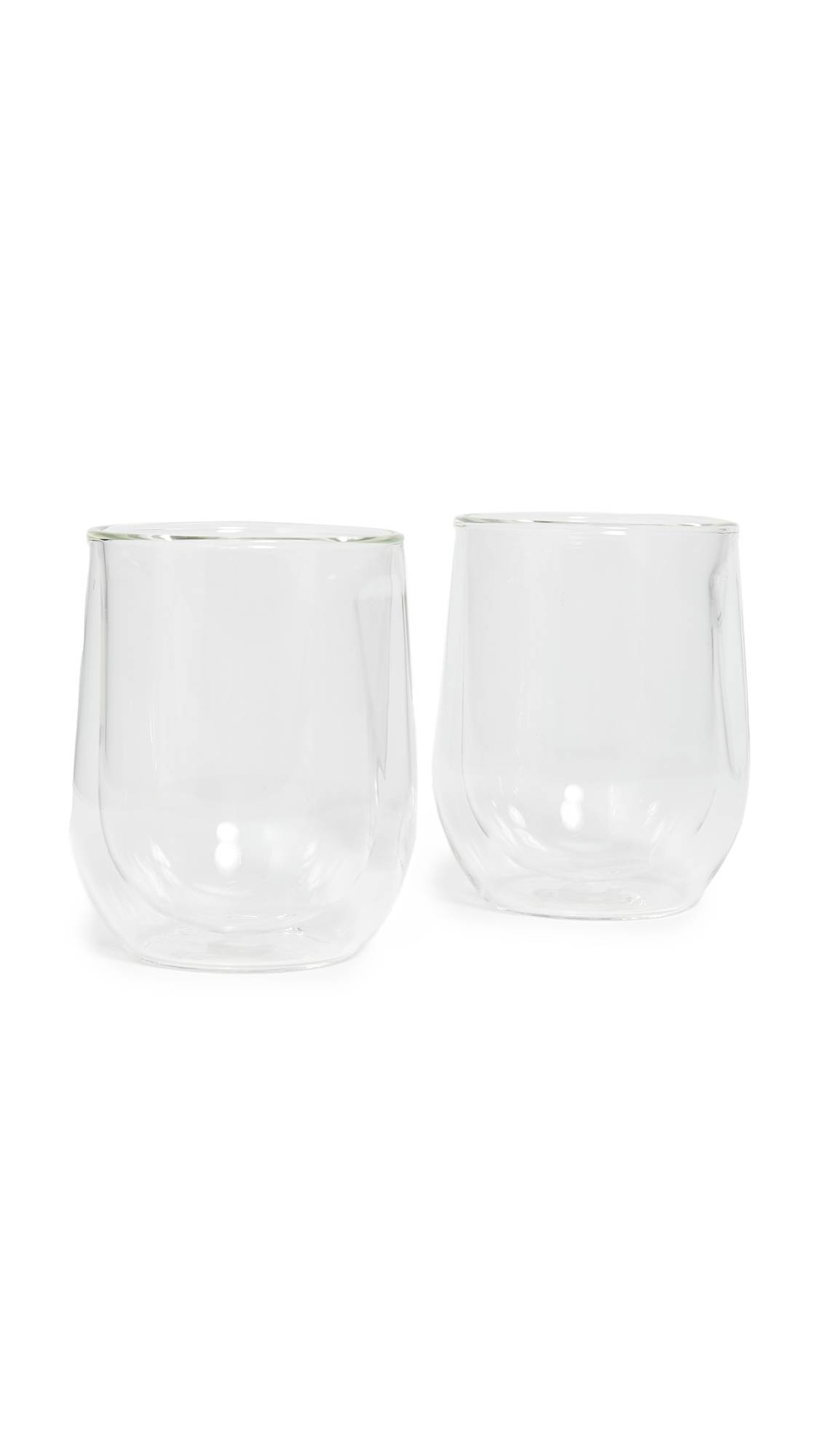 Corkcicle Double Walled Stemless Glass Wine Set - Size: One Size