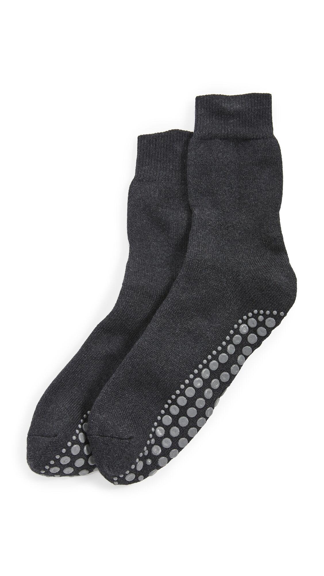 Falke Homepads SO Crew Socks - Asphalt Melange - Size: 39-42