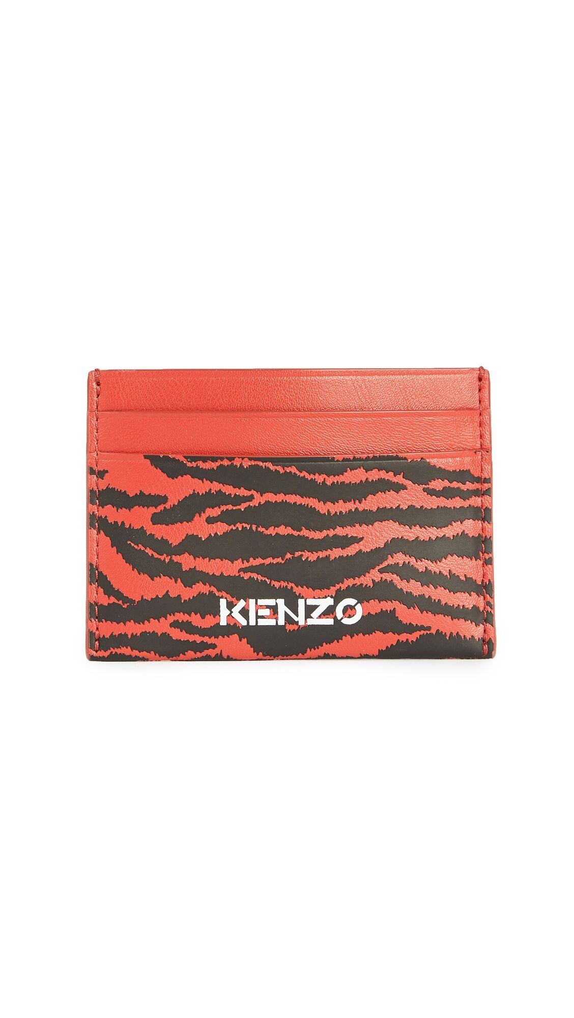Kenzo Cardholder - Medium Red - Size: One Size