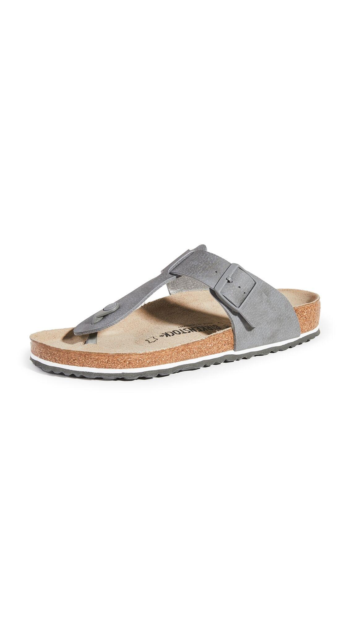 Birkenstock Medina Shoes - Desert Soil Grey - Size: 45
