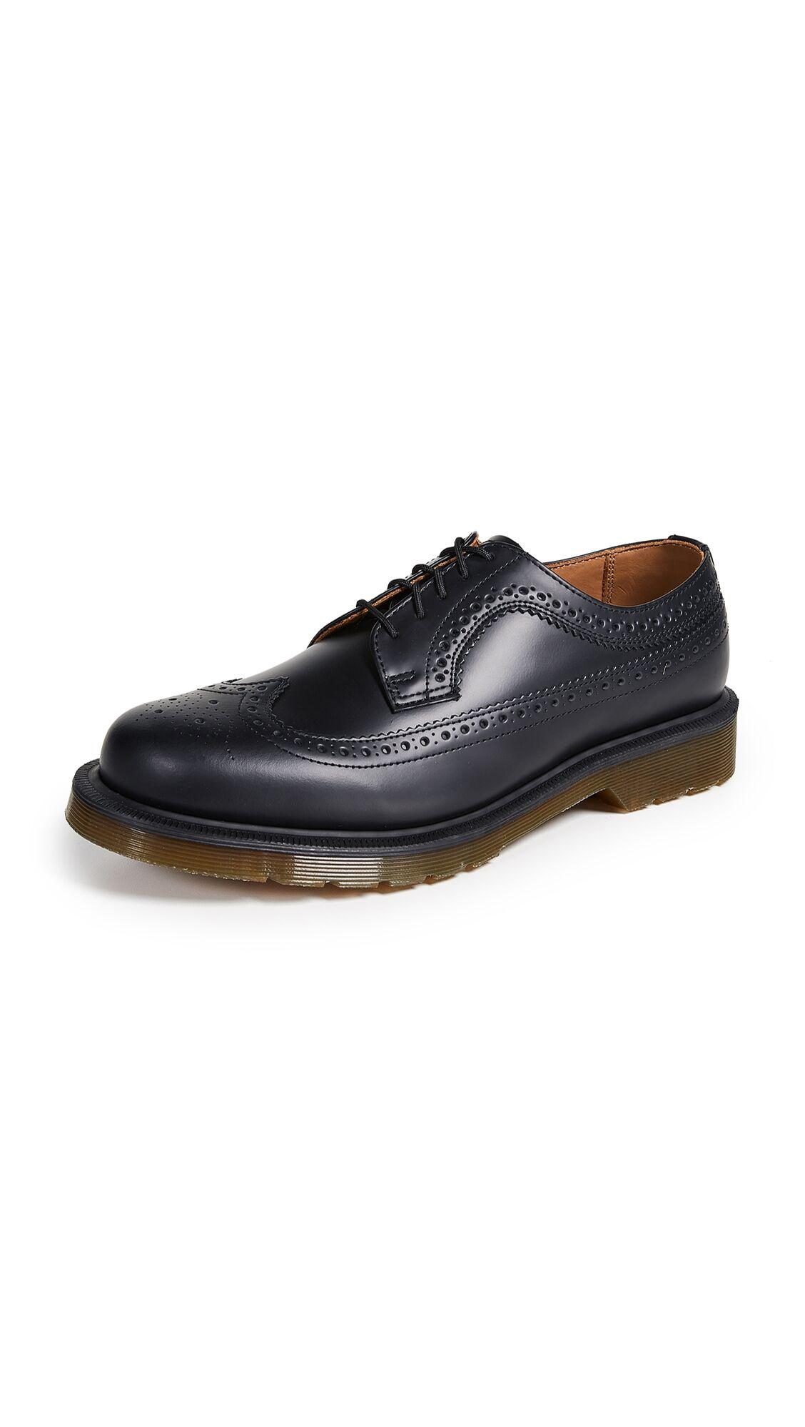 Dr. Martens 3989 Brogue Lace Up Shoes - Black - Size: 8