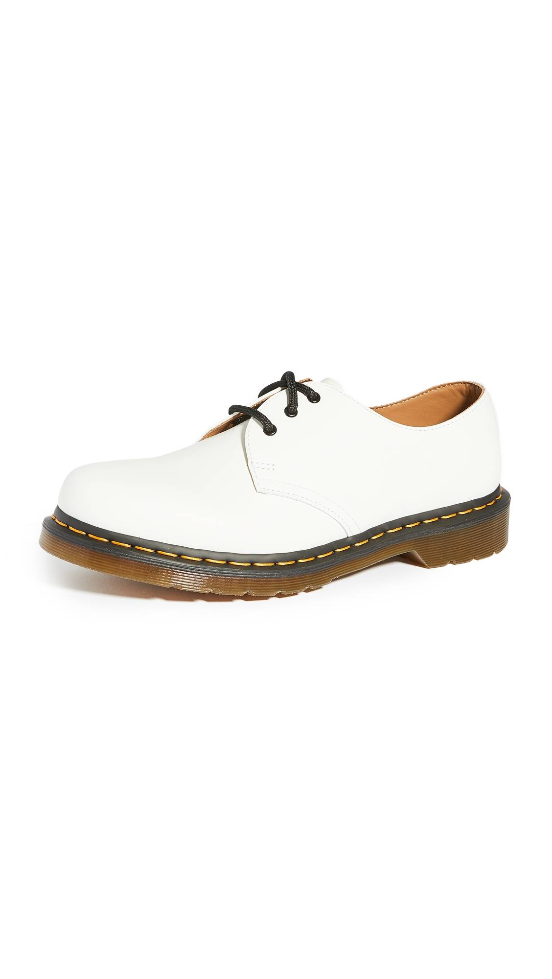 Dr. Martens 1461 3-Eye Shoes - White - Size: 9