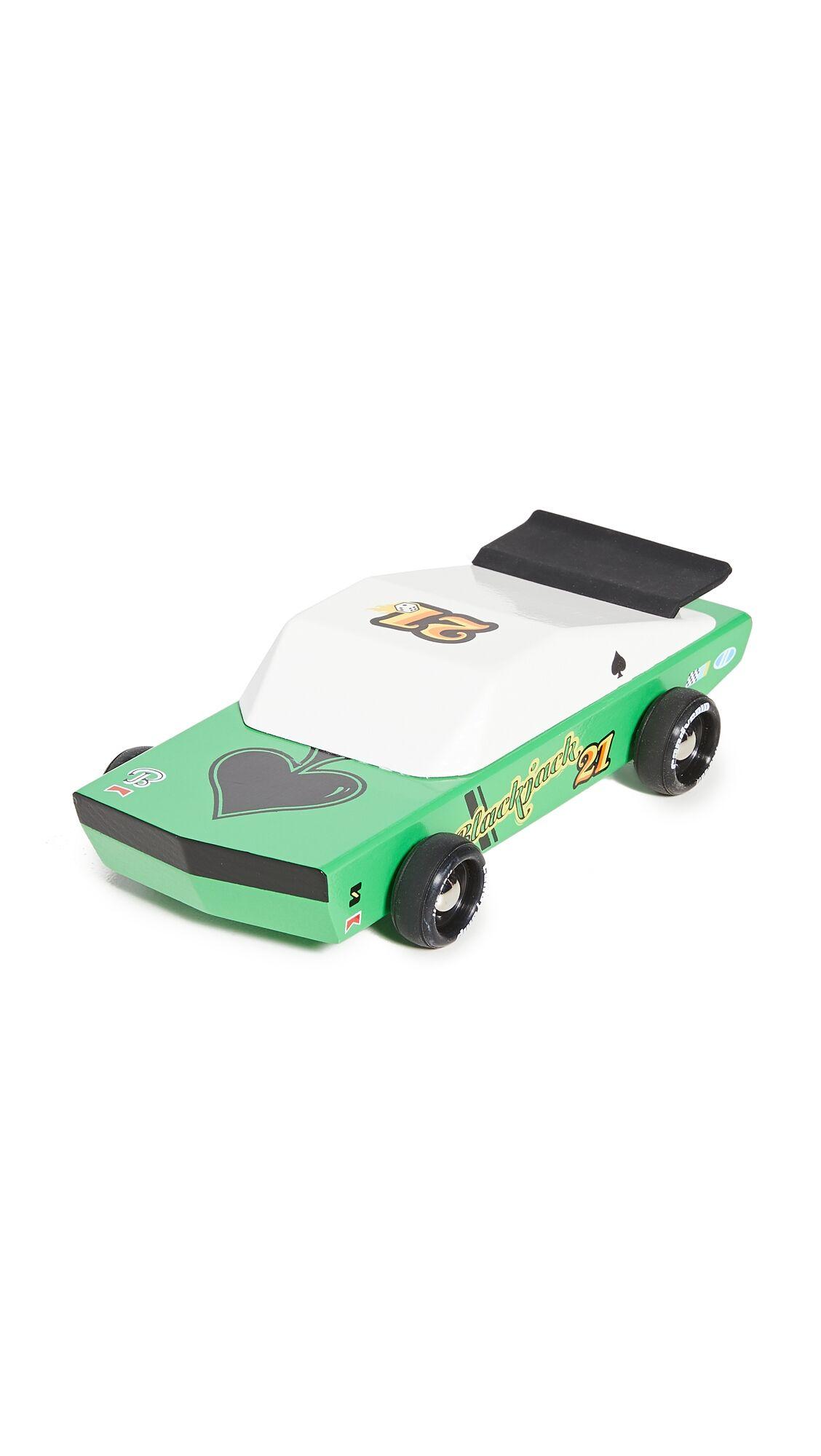 Candylab Toys Blackjack Vintage Race Car - Size: Male