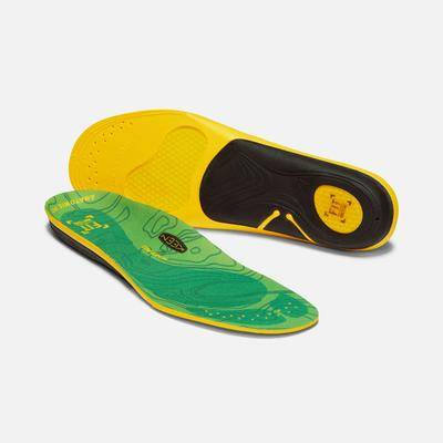 Keen Men's Outdoor K-30 Low Arch Insole Size Smallmall, In Green - Natural Odor Control