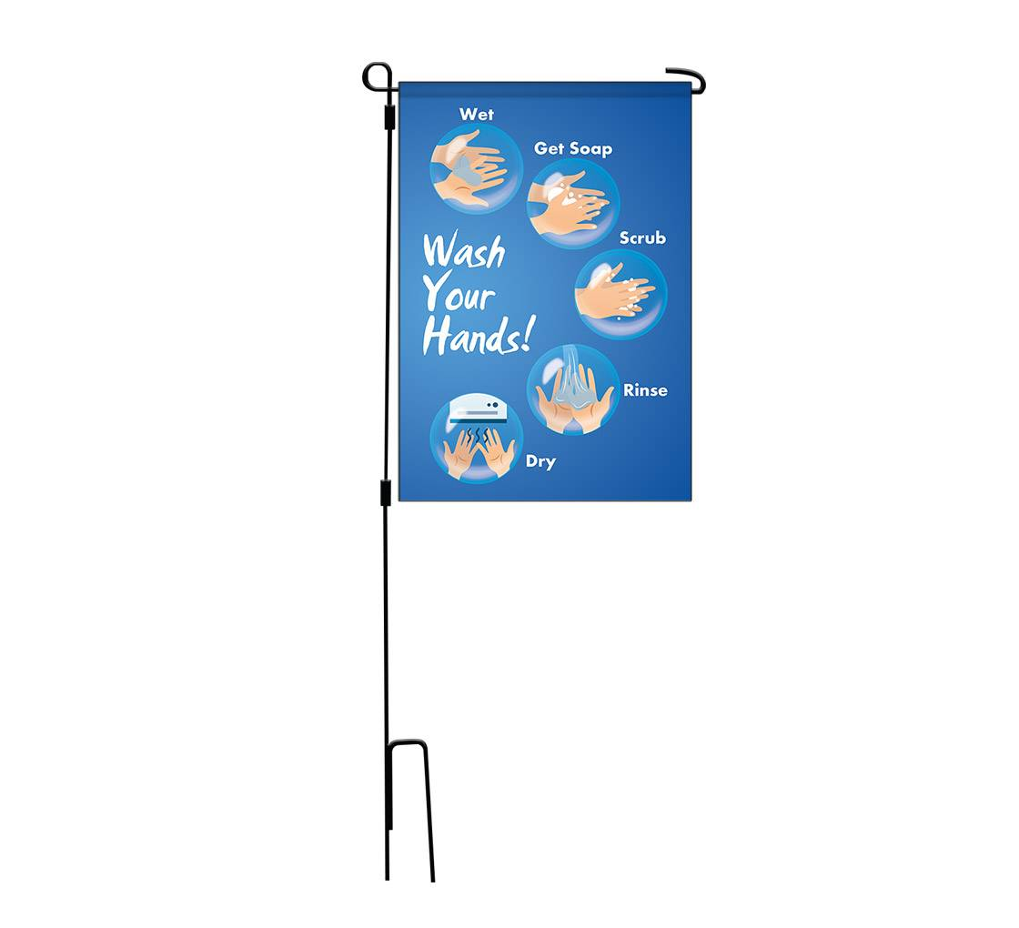 Bannerbuzz Advisory Garden Flags