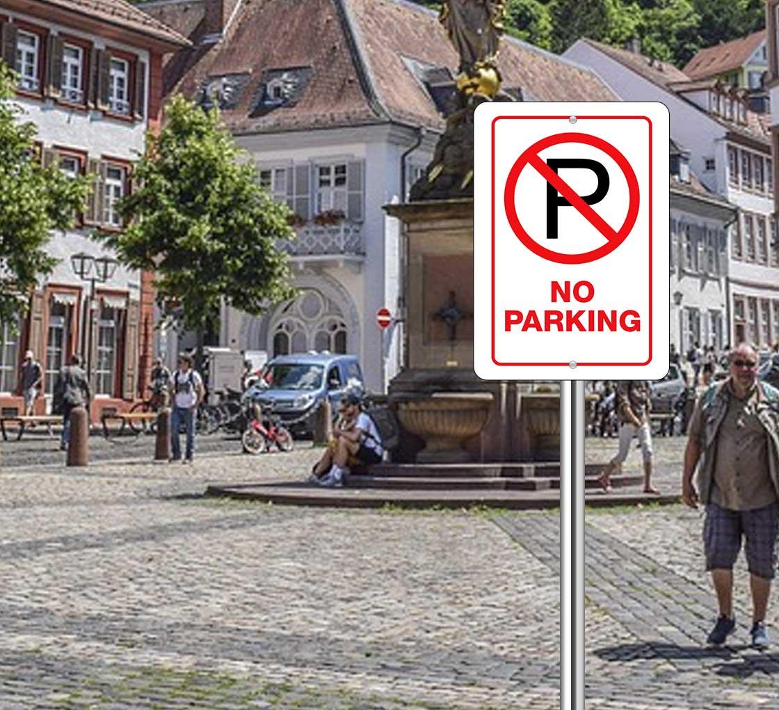 Bannerbuzz No Parking Signs