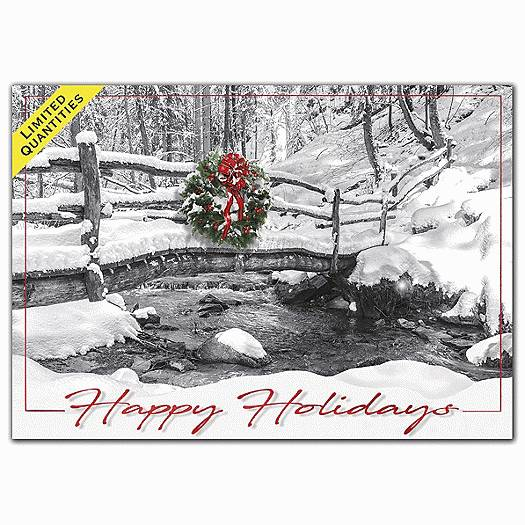 Deluxe for Business All Natural Holiday Cards