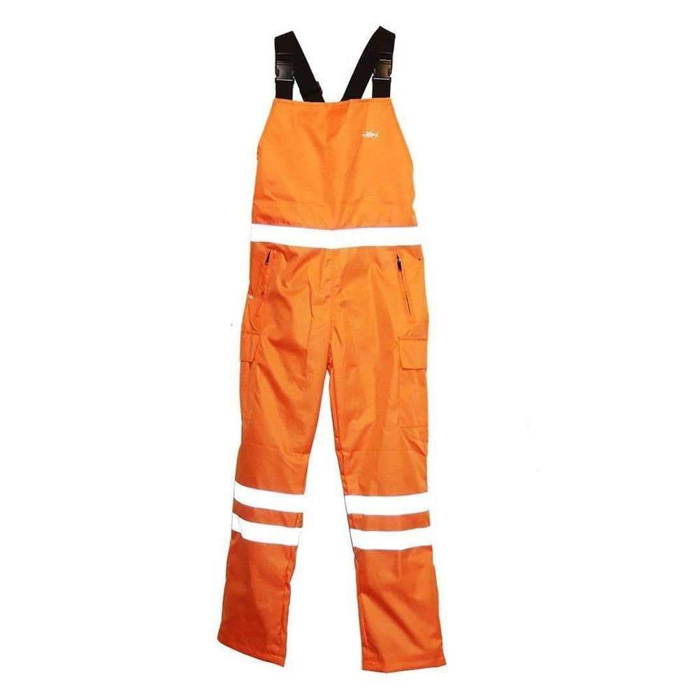 Home Run Orange Fisherman Bib