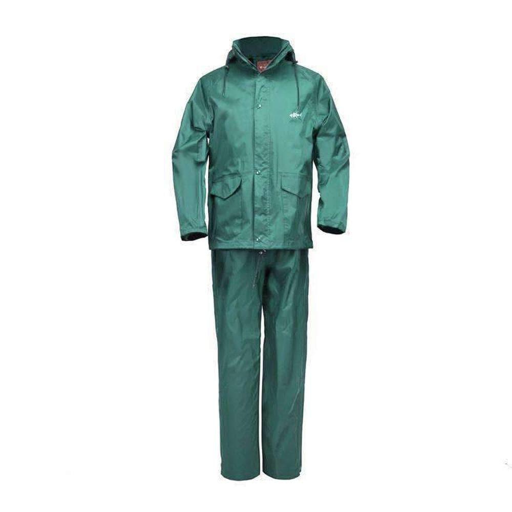 Home Run Packable Green Waterproof Rain Suit