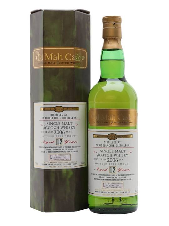 Craigellachie 2006/12 Year Old/OMC 20th Anniversary Bottling Speyside Whisky