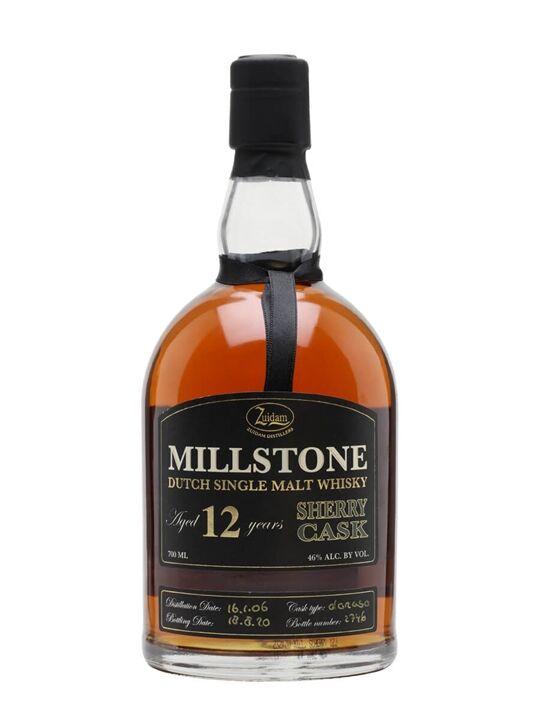 Millstone Zuidam Millstone 12 Year Old / Sherry Cask Dutch Single Malt Whisky