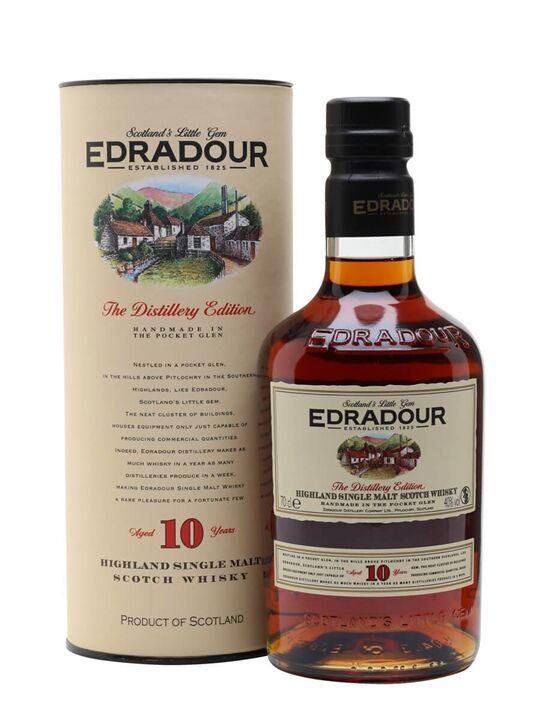 Edradour 10 Year Old Highland Single Malt Scotch Whisky