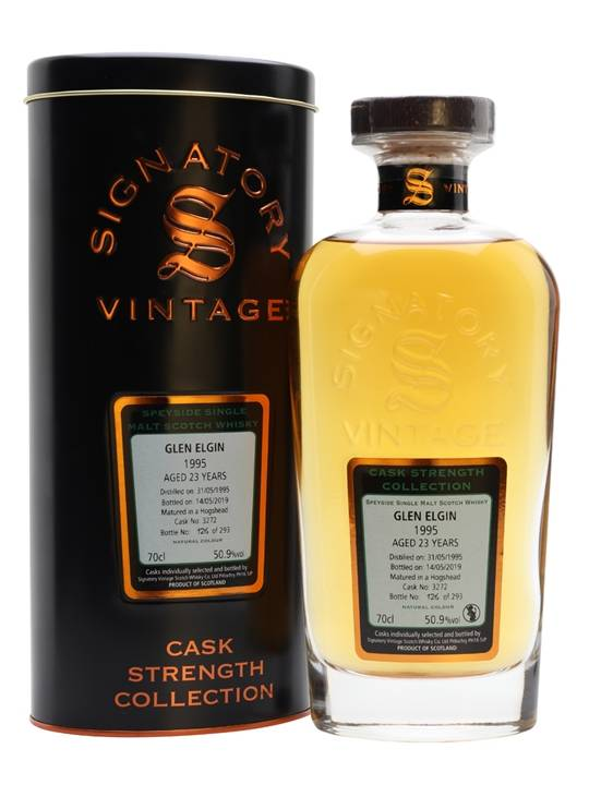 Glen Elgin 1995 / 23 Year Old / Signatory Speyside Whisky