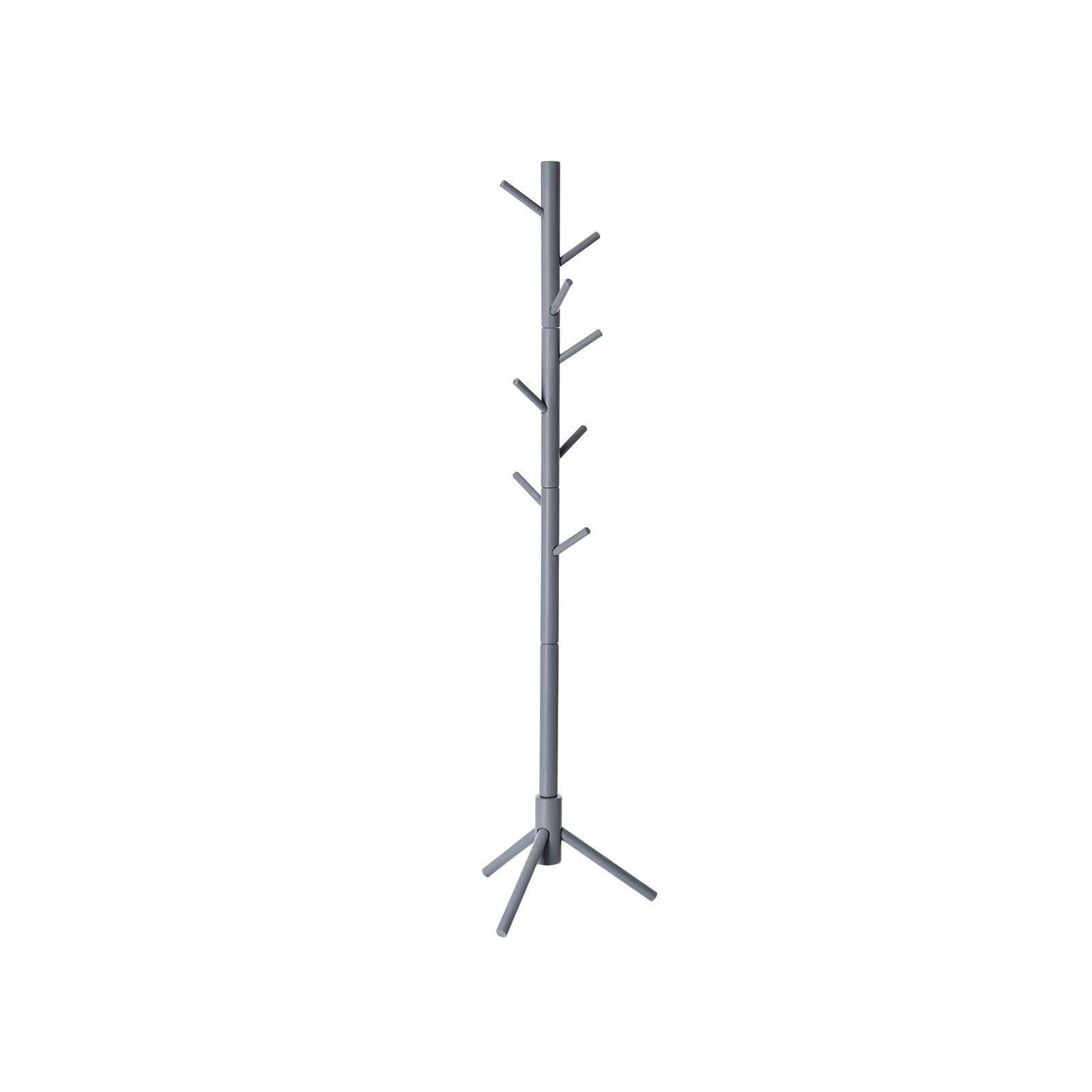 Gray Wood Coat Tree