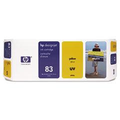 HP C4943A (83) Ink Cartridge, UV Yellow