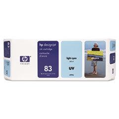 HP C4944A (83) Ink Cartridge, UV Light Cyan