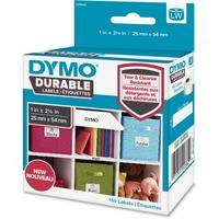 Dymo LW Durable Multi-Purpose Labels, 1 x 2 1/8, 160/Roll