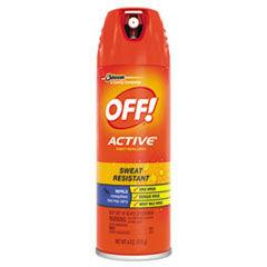 OFF! ACTIVE Insect Repellent, 6 oz Aerosol, 12/Carton