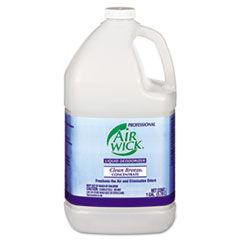Air Wick Liquid Deodorizer, Clean Breeze, 1gal, Concentrate