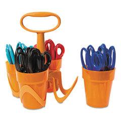 "Fiskars Scissors, 5"" Length, Classpack, Pointed Tip, Assorted Colors, 24 Per Set"