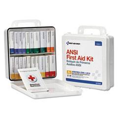 First Aid Only Unitized Weatherproof ANSI Class A+ First Aid Kit for 50 People, 24 Units