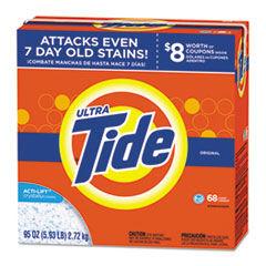 Tide HE Laundry Detergent, Original Scent, Powder, 95 oz Box, 3/Carton