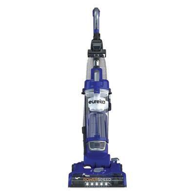 "Eureka PowerSpeed Turbo Spotlight Lightweight Upright, 12.6"" Cleaning Path, Blue"