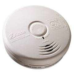 "Kidde Kitchen Smoke/Carbon Monoxide Alarm, Lithium Battery, 5.22""Dia x 1.6""Depth"