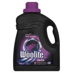 WOOLITE Extra Dark Care Laundry Detergent, 100 oz Bottle, 4/Carton