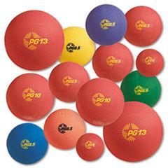 Champion Sports Playground Ball Set, Multi-Size, Multi-Color, Nylon, 14/Set
