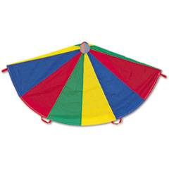 Champion Sports Nylon Multicolor Parachute, 24-ft. diameter, 20 Handles