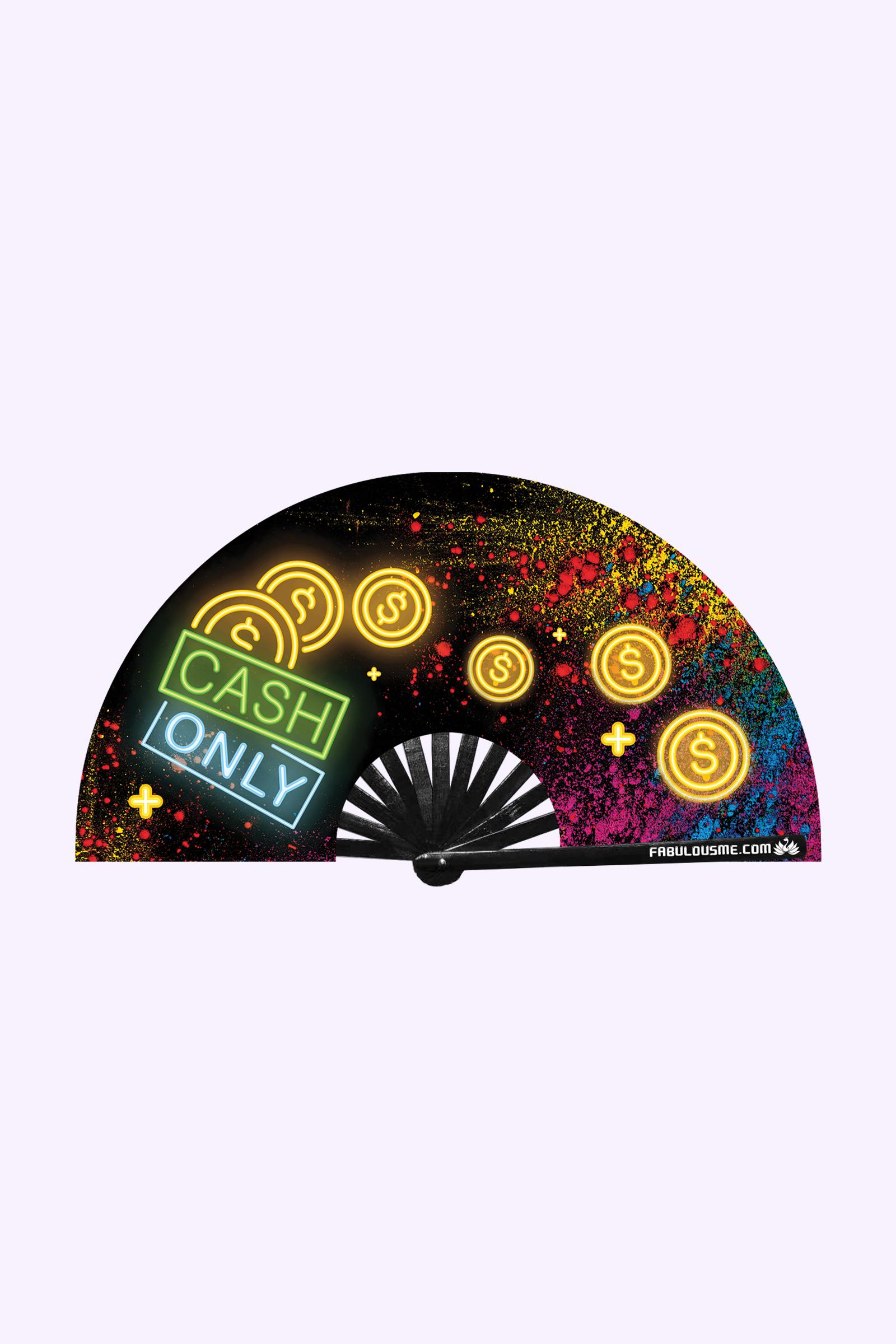 JJMalibu Cash Only Fan (UV Glow)