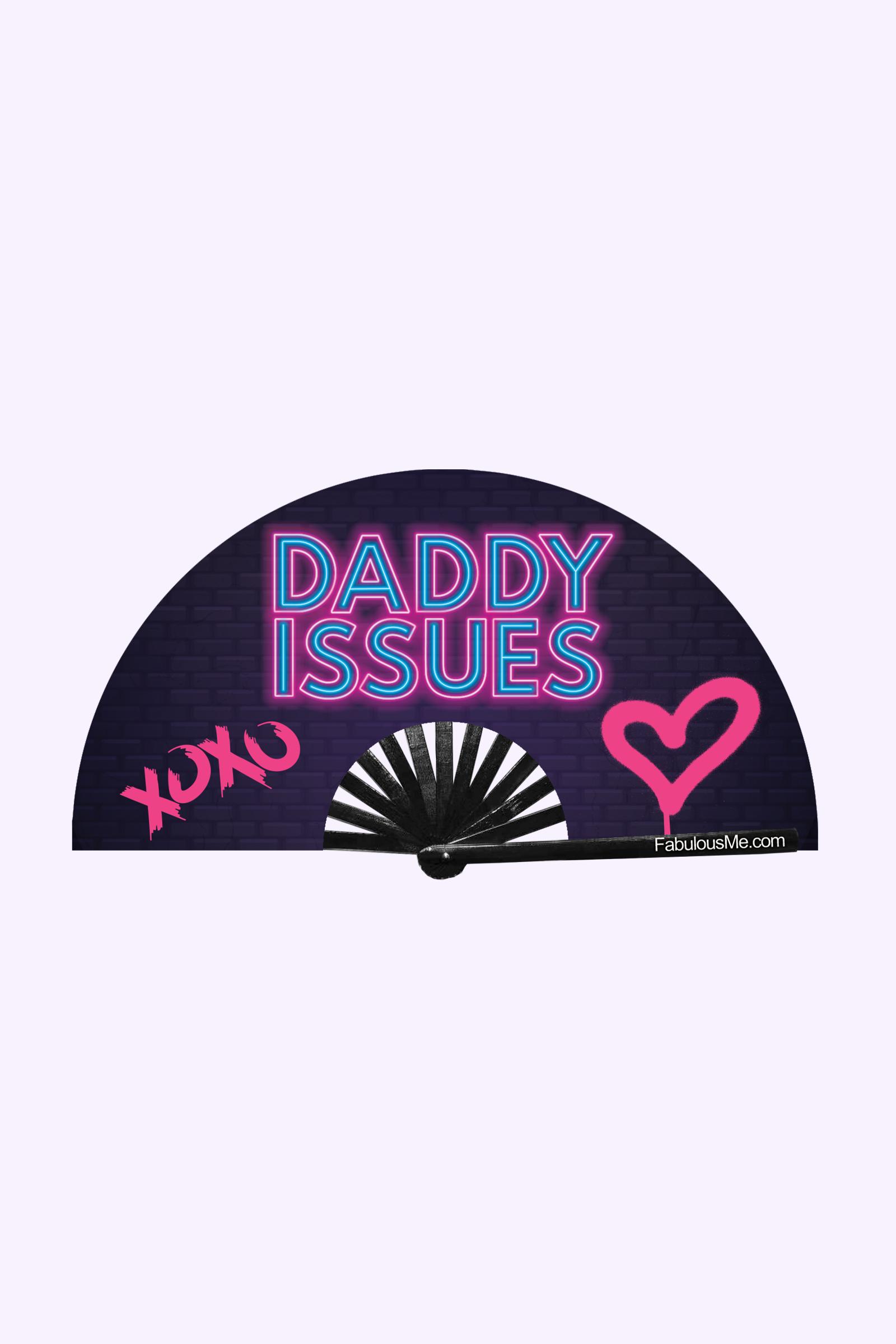 JJMalibu Daddy Issues Fan (UV Glow)