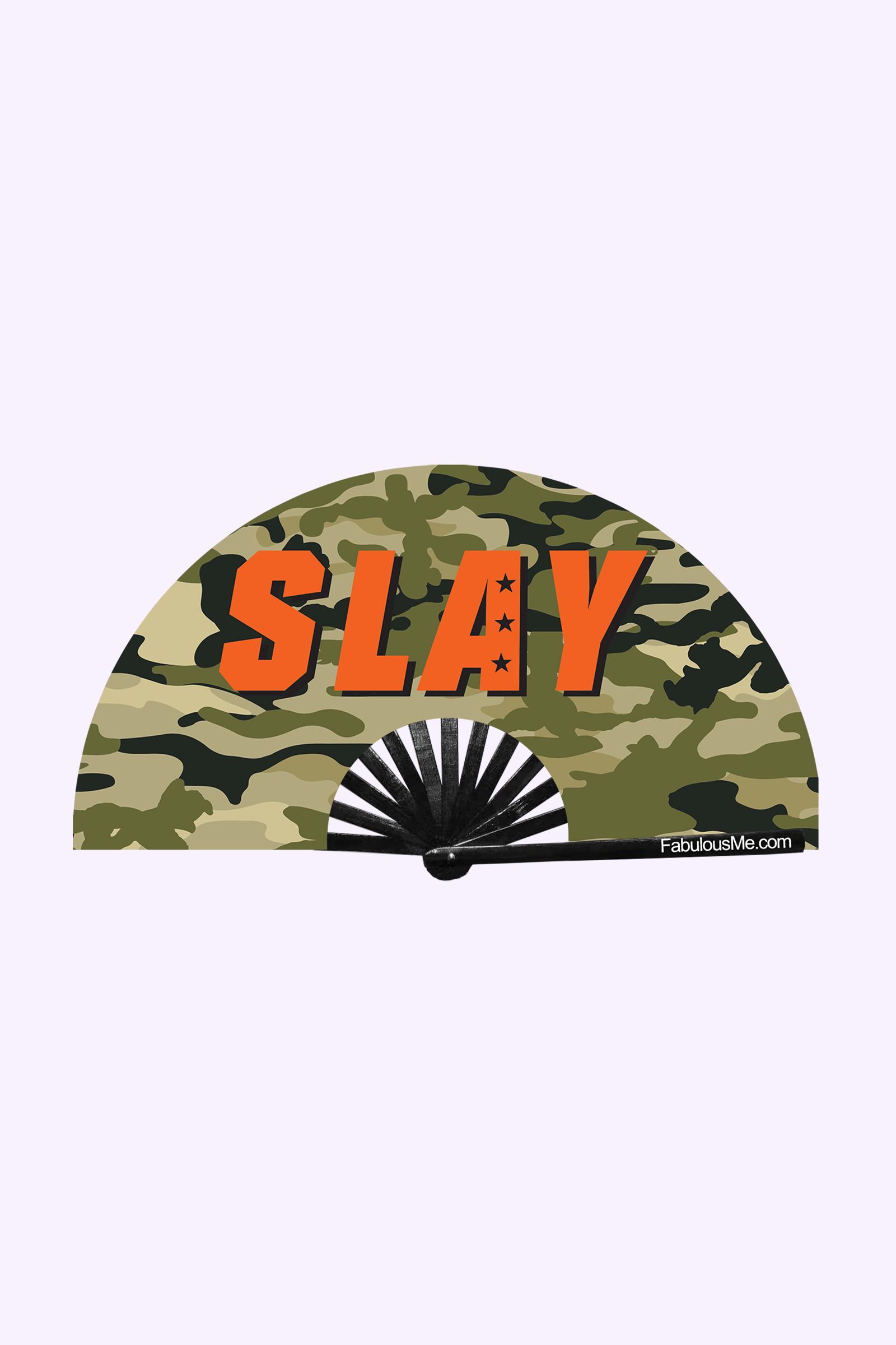 JJMalibu Military Slay Fan (UV Glow)