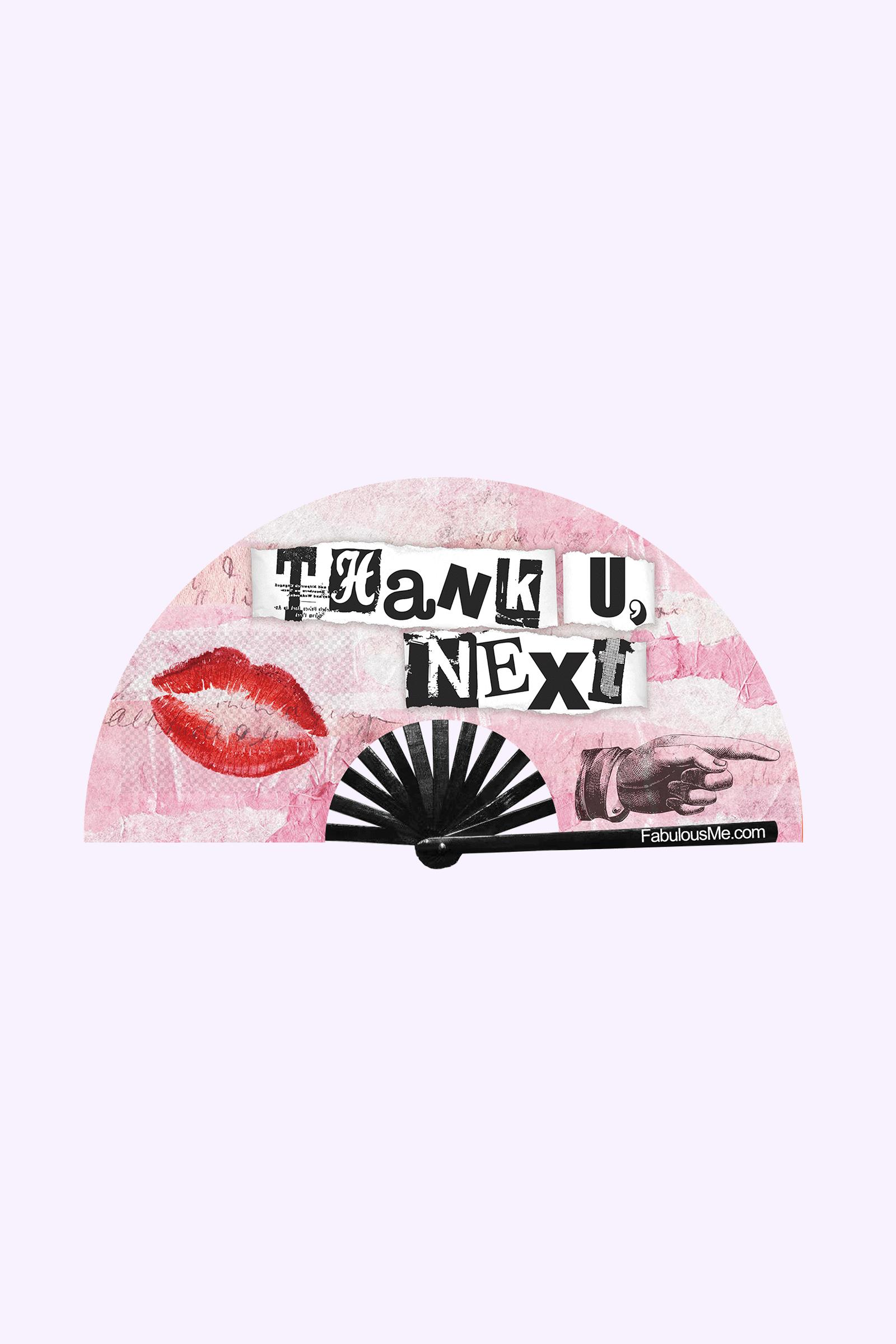 JJMalibu Thank U, Next Fan (UV Glow)