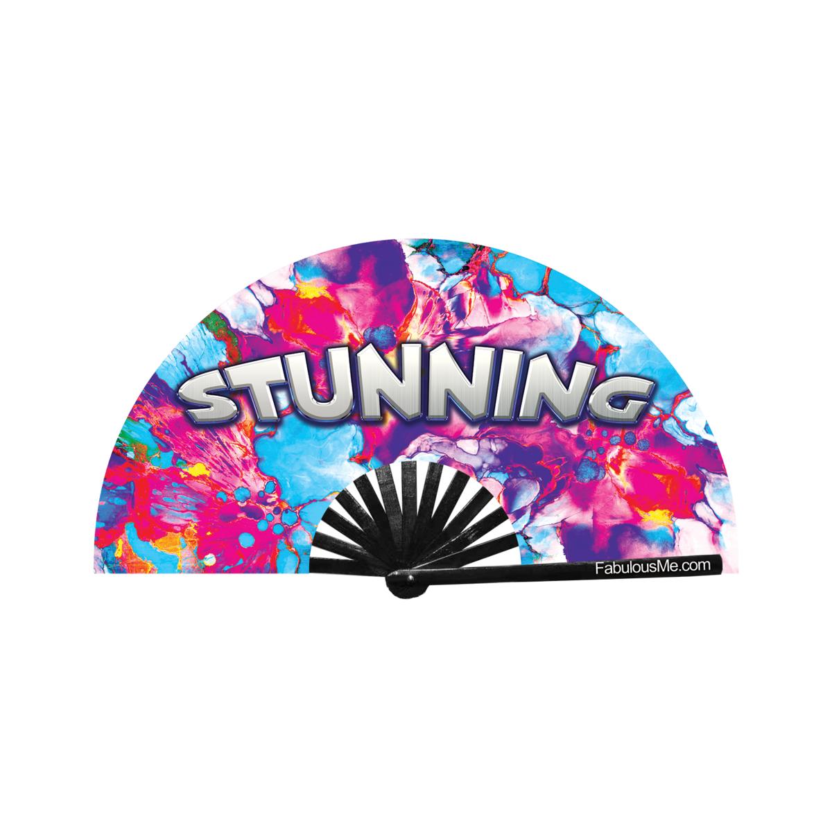 JJMalibu Stunning Fan (UV Glow)
