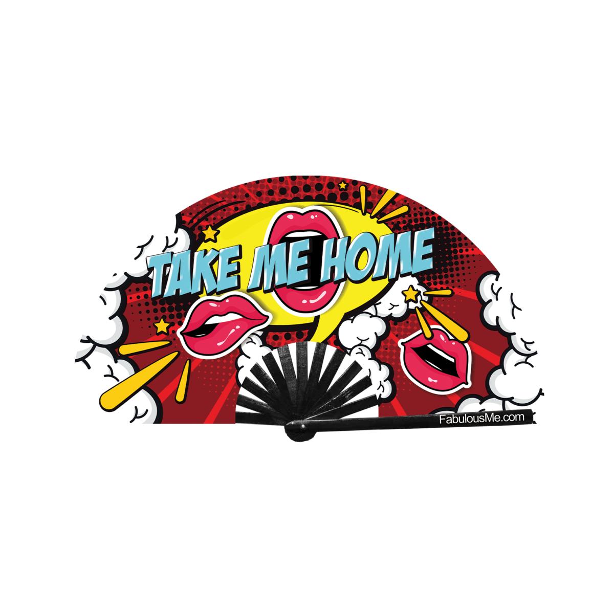 JJMalibu Take Me Home Fan (UV Glow)
