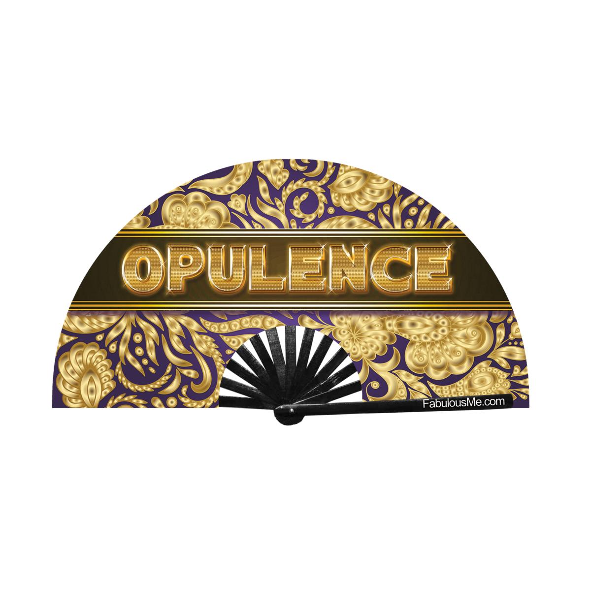 JJMalibu Opulence Fan (UV Glow)