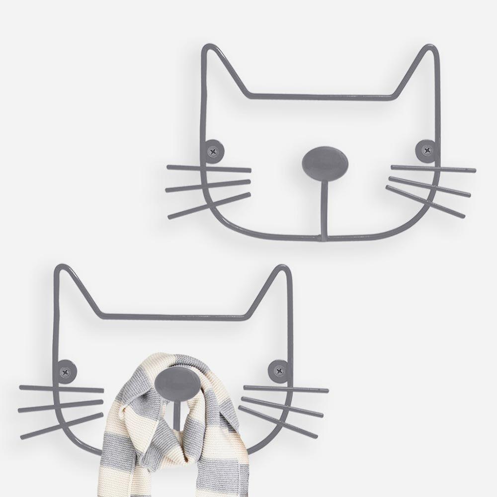 Cat Coat Hangers