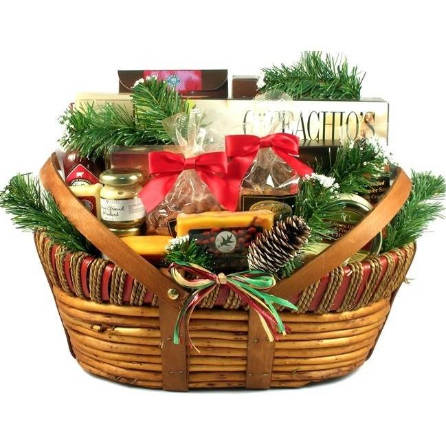 Gift Basket Village Deluxe Home For The Holidays Gift Basket