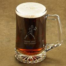JDS Marketing & Sales Sports Icon of Choice Beer Stein Personalized