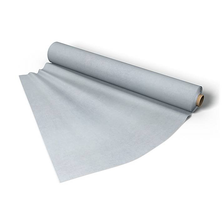 Bemz Fabric per metre, Silver Grey, Velvet - Bemz