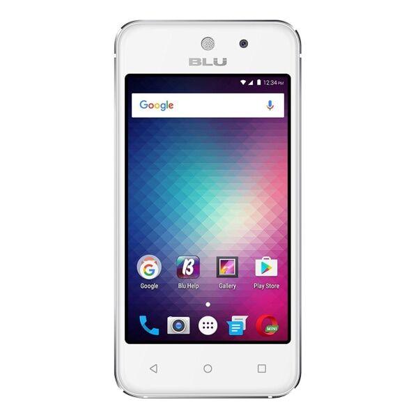 BLU Vivo 5 Mini V050Q Cell Phone, Silver, PBN201174