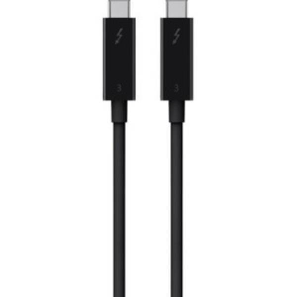 Belkin Thunderbolt 3 Cable (USB-C to USB-C) (100W) (6.5ft/2m) F2CD085bt2M-BLK - First End: 1 x Type