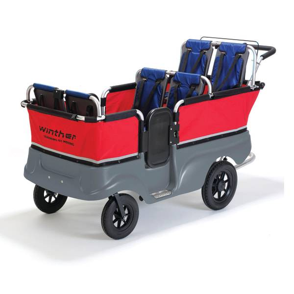 Winther Turtle Kiddy Bus And Stroller, 6 Seats, 40