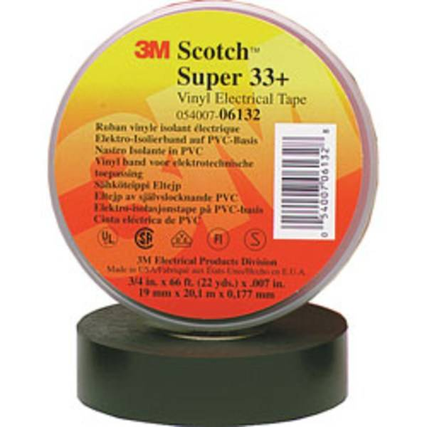 3M 33+ Electrical Tape, 3/4