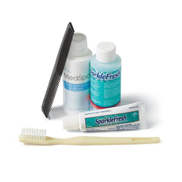 Medline Premium Personal Care Kits, Pack Of 30 Kits